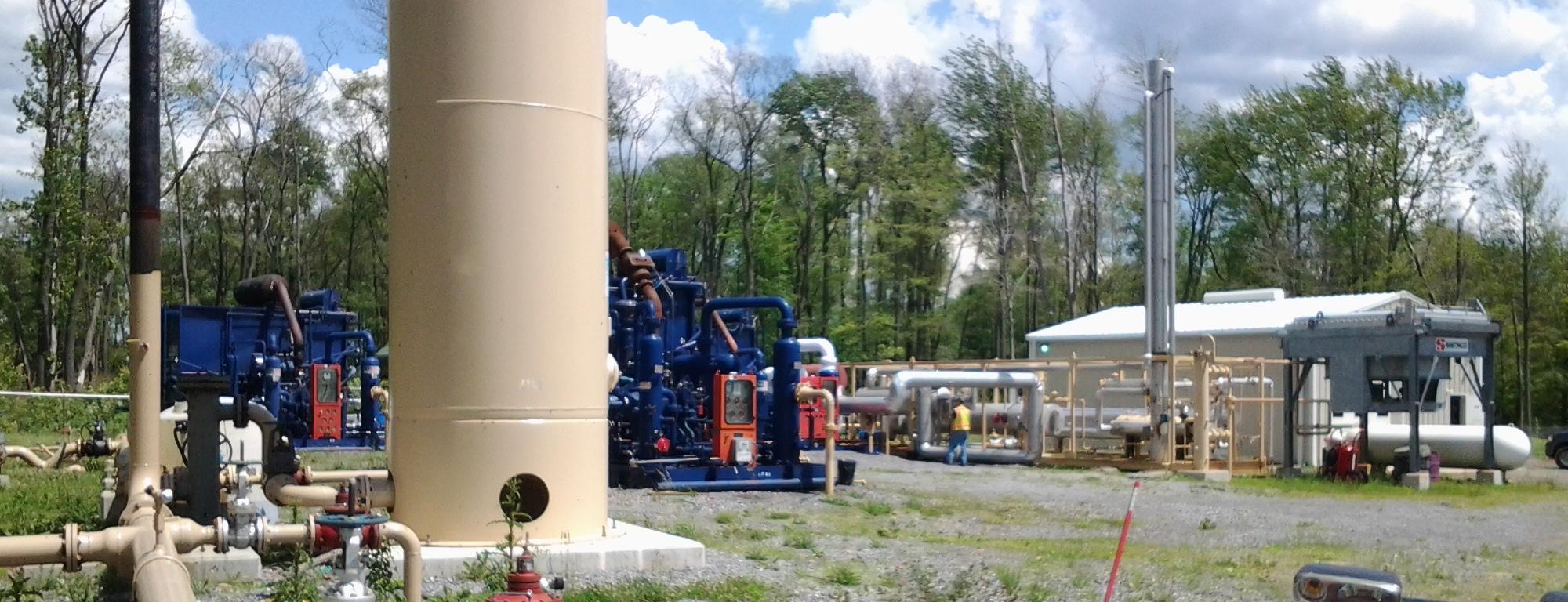 U.S. Energy Air Stripping Unit